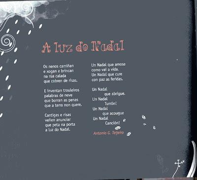 Resultado de imaxes para un poema de nadal en galego