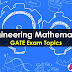 Engineering Mathematics Important GATE Topics