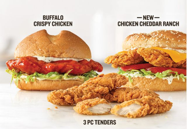 Arby S Updates Two For 6 Mix And Match Deal By Replacing Beef With More Chicken Brand Eating