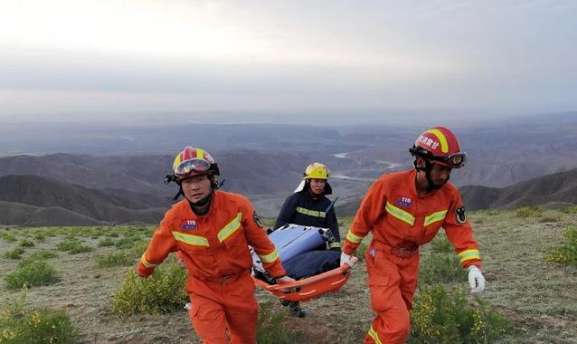 """Sobrevivente de maratona foi salvo por pastor em caverna na China: """"Me deu uma nova vida"""""""