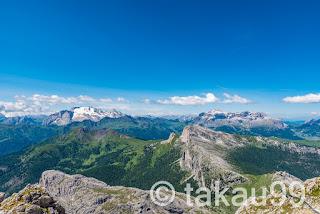 ラガツォイ山頂からの絶景