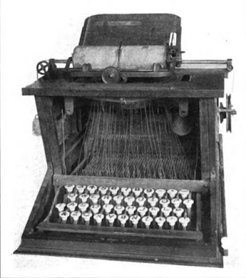 When and when did the keyboard invent?