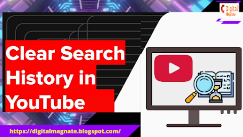 How To clear the YouTube search history on a PC