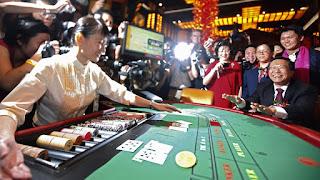Glücksspieleinnahmen in Macau