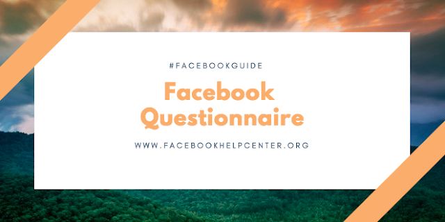 How to create a questionnaire on Facebook