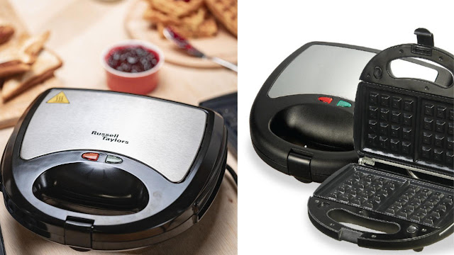 Russell Taylors 3-in-1 Waffles Maker