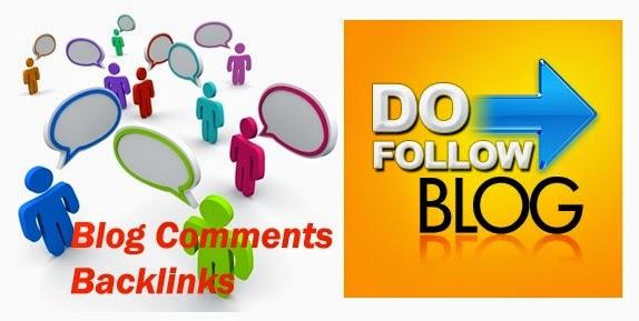 high pr dofollow blog comments