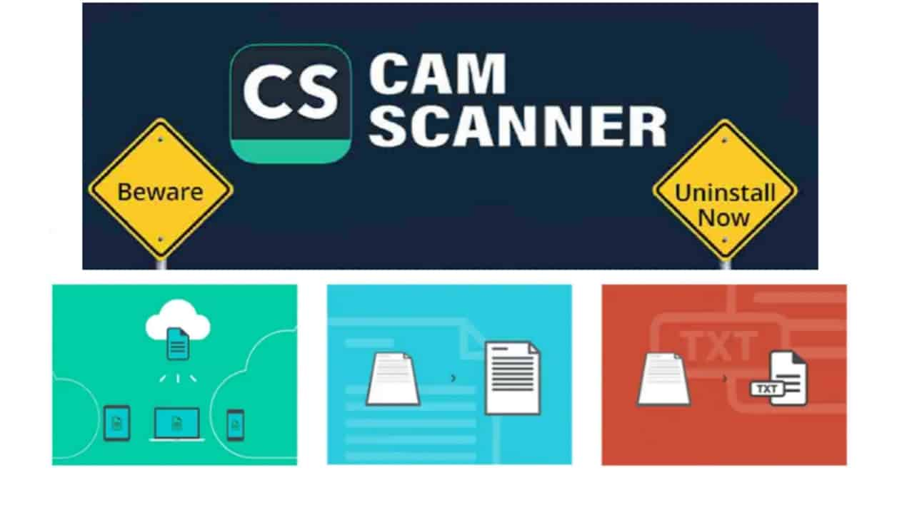 Popular CamScanner App Removed From Google PlayStore, If you have it on Phone Delete Now