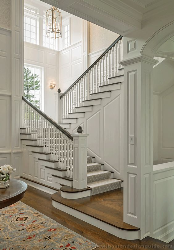 28 pinterest worthy inspiring beautiful staircases decor inspiration hello lovely for Home designer stairs with landing