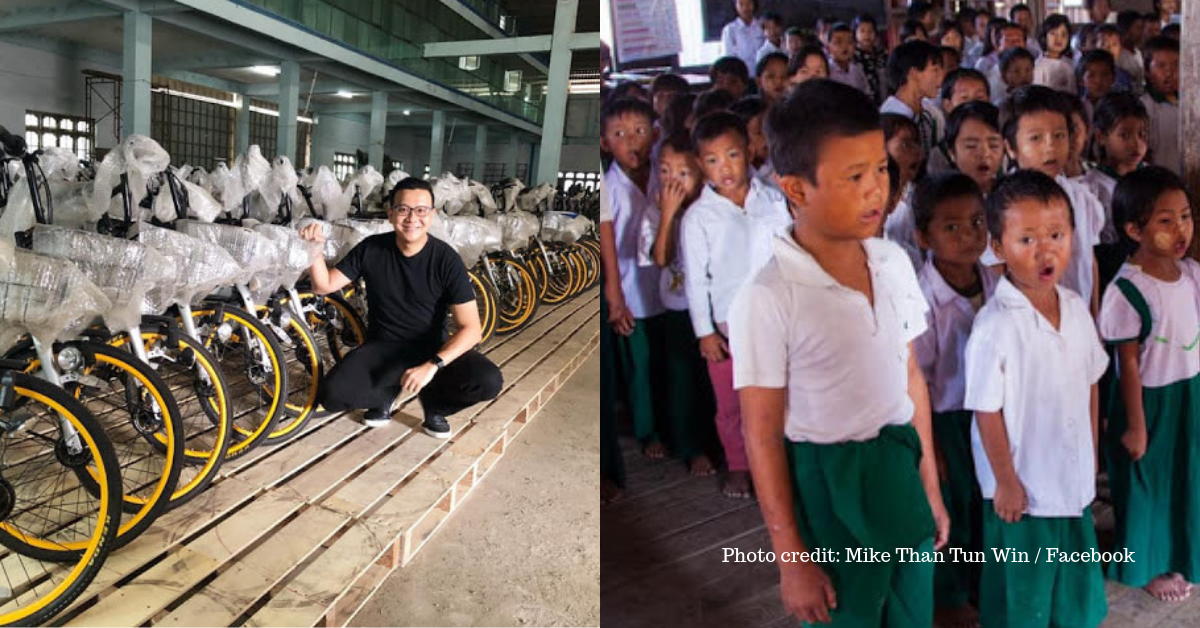 Guy Buys 10,000 Abandoned Bikes so Poor Students Can Have a Ride to School