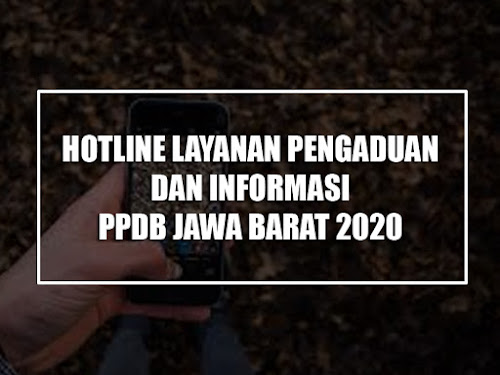 nomor pengaduan ppbd jabar 2020