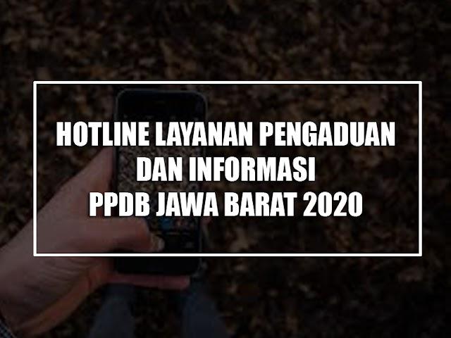 Nomor Layanan Pengaduan dan Informasi PPDB Jawa Barat 2020 Per Daerah