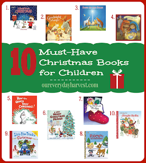 http://www.oureverydayharvest.com/2015/12/10-christmas-books-children.html