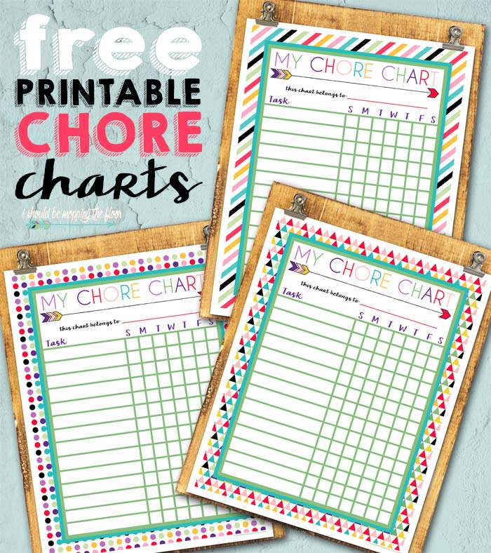 graphic about Free Printable Chore Chart Ideas identify Cost-free Printable Chore Charts i need to be mopping the surface