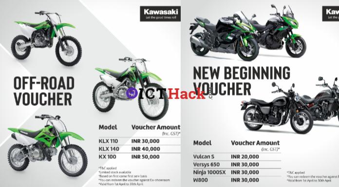 Kawasaki Offers April 2021 Benefits and Discounts on Kawasaki Vulcan S and Kawasaki Versys 650