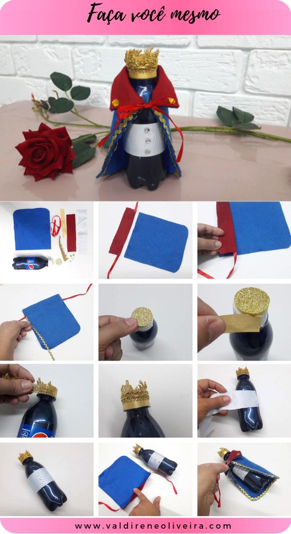 garrafinha personalizada pequeno príncipe-valdirene oliveira