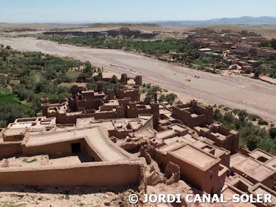 Vistas desde lo alto de Ait ben Haddou