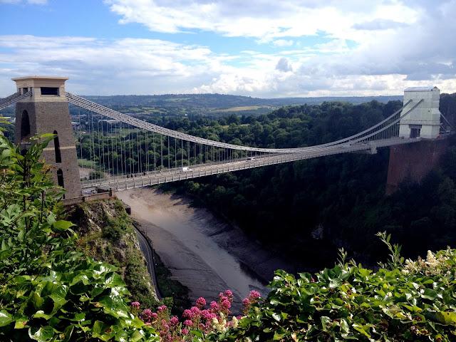 el puente colgante de bristol