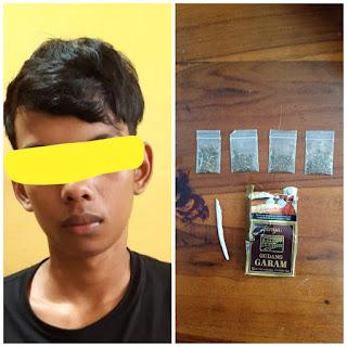 Dua Pelaku Narkoba Asal Makassar Terjaring Ops Antik Lipu 2020 Polres Pangkep