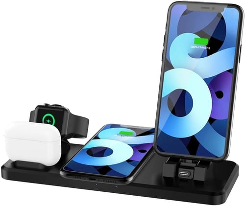 Vhcilxi 4 in 1 Wireless Charging Dock Station