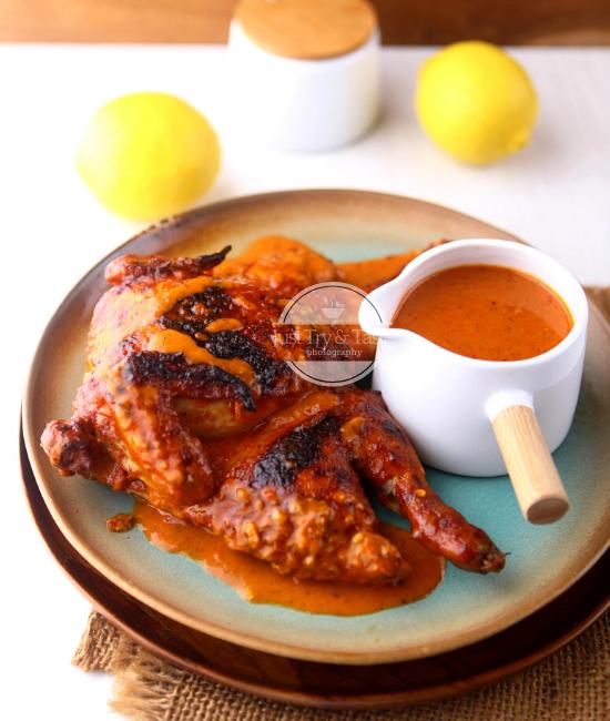 Resep Copycat Ayam Panggang Saus Peri-Peri ala Nando's