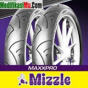Ban Mizzle MaxxPro - Brosur Katalog Daftar Harga Ban Motor Mizzle Tubeless Ban Luar dan Ban Dalam Terbaru Yang Murah