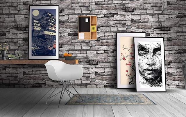 Store2508® Premium Textured Self Adhesive Sticker Wallpaper