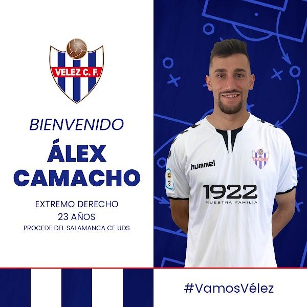 Oficial: El Vélez CF ficha a Álex Camacho