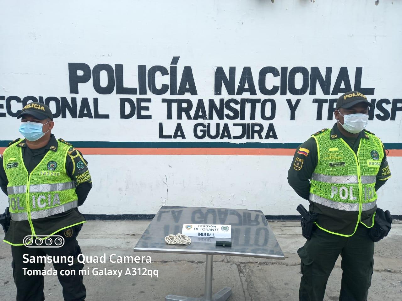 hoyennoticia.com, Huyeron y botaron material explosivo cerca a Cuestecita