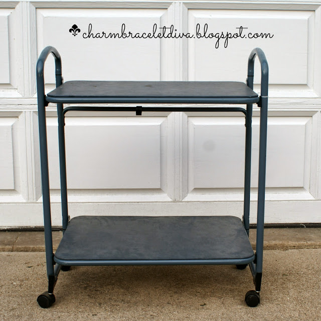 vintage bar cart repurpose ideas