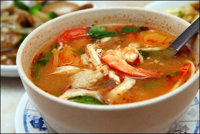 Resep Sup Tomyam