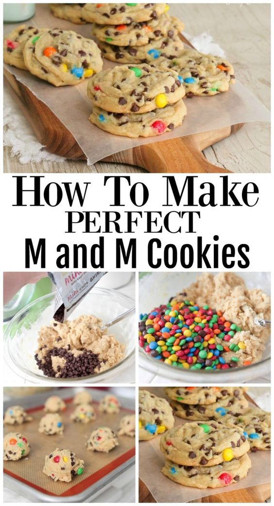 How To Make Perfect M and M Cookies #make #perfect #cookies #bakingrecipes #recipesforkids #cookierecipes #goodcookierecipes #sandwichrecipe #healthycookies #healthybaking #dezzertrecipes #bakingideas #baking