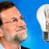 Con Rajoy, la luz ha subido un 24,6% en los últimos 6 meses (14,75 euros para el usuario medio)