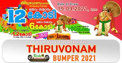 Kerala Thiruvonam Bumper BR 81 Prize Structure 2021
