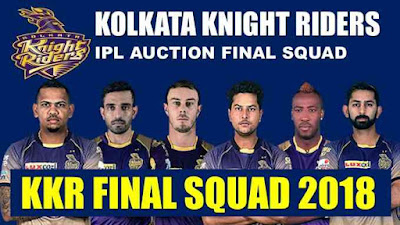 KKR Squad IPL 11 2018 Full Team Celebration