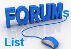 Free Top 29 High PR Dofollow Business Ecommerce Forum Site List