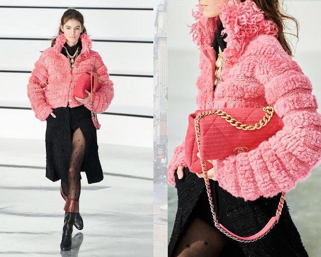 Chanel осень 2020 зима 2021 12