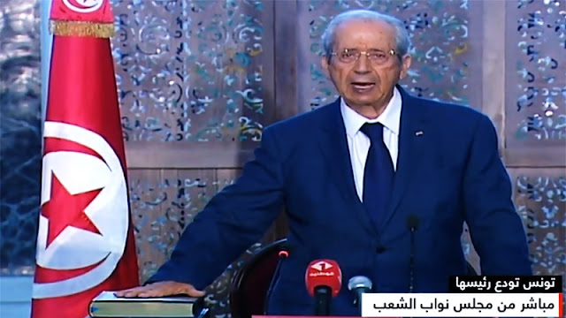 رسمي: محمد الناصر الرئيس السادس للجمهورية التونسية (فيديو)