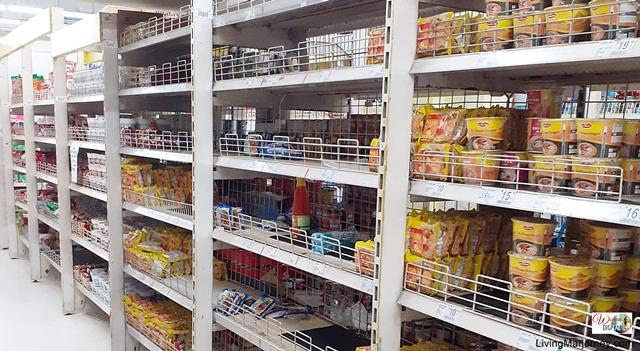 Supermarket look during ECQ