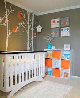 hermoso dormitorio pare bebé