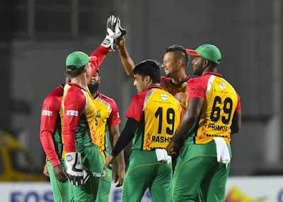 CPL 2019 GUY VS JAM 29th match
