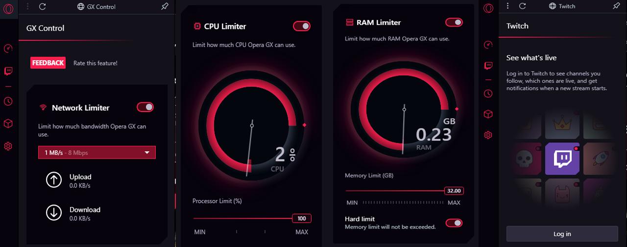 Opera GX  Browser Gaming Pertama di Dunia