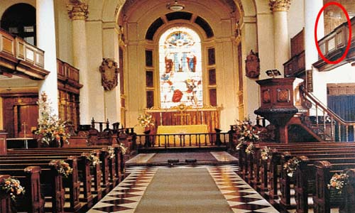 El fantasma de la iglesia de San Botolph