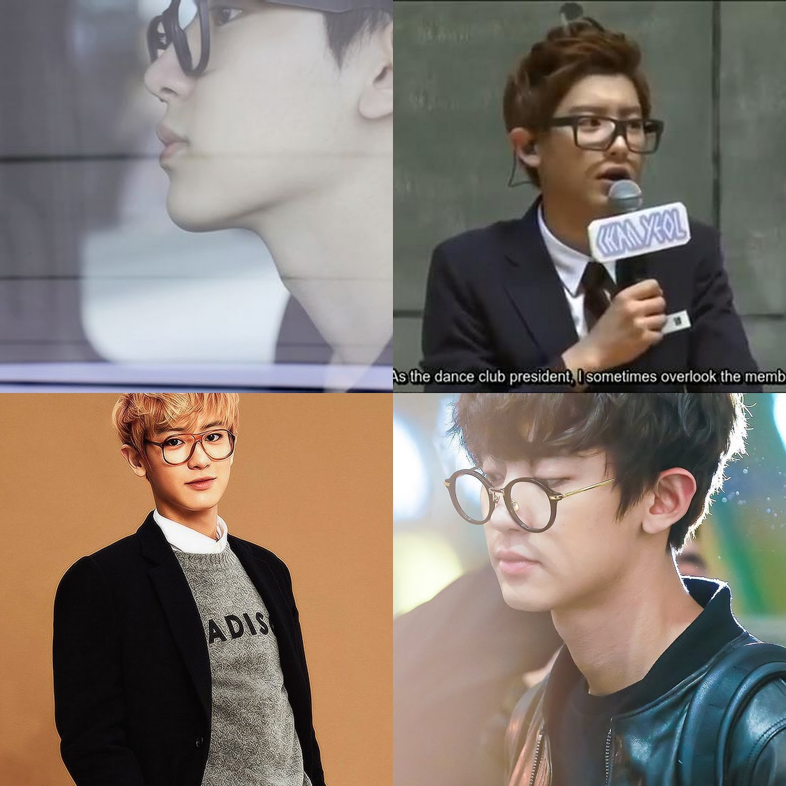 Menganalisis Fashion Dan Style Chanyeol EXO