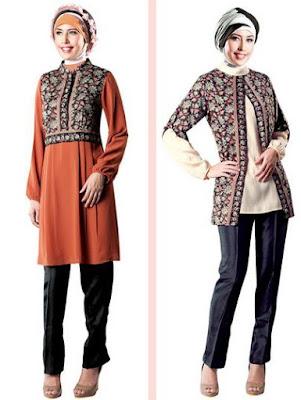 Contoh Batik Muslim Terbaru