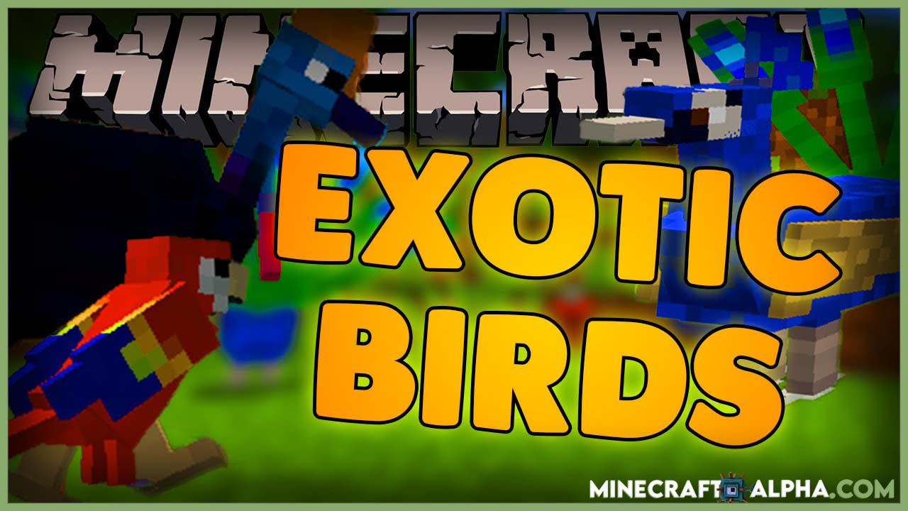 New More Exotic Birds Mod