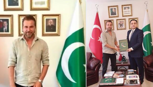 After Esra Bilgic, Ertugrul Ghazi (Angin Altan) Becomes Pakistani Brand Ambassador and Soon to Visit Pakistan