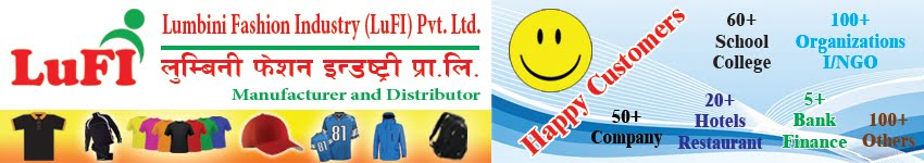 Lumbini Fashion Industry (LuFI) Pvt. Ltd. | T-shirt, Track-suit, Jacket & Cap