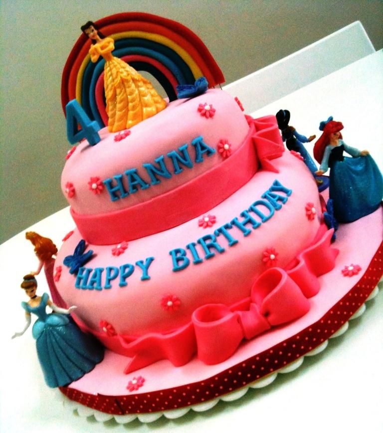Happy Birthday Hanna Cake