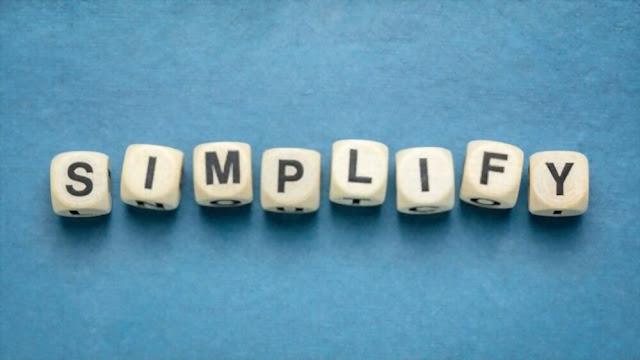 Simplify living by less Multitasking